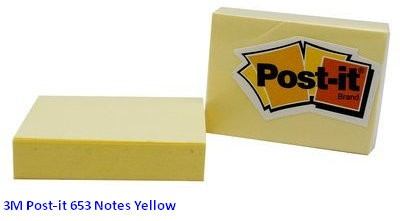 Supplier ATK Post-it 3M 653 Notes Yellow Harga Grosir