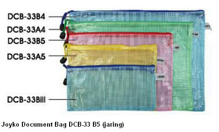 Supplier ATK Joyko Document Bag DCB-33 B5 (jaring) Harga Grosir
