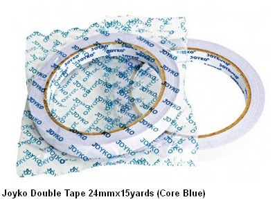 Supplier ATK Joyko Double Tape 24mmx15yards (Core Biru) Harga Grosir