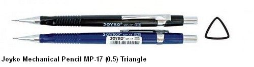 Supplier ATK Joyko Pensil Mekanik MP-17 (0.5) Triangle Harga Grosir