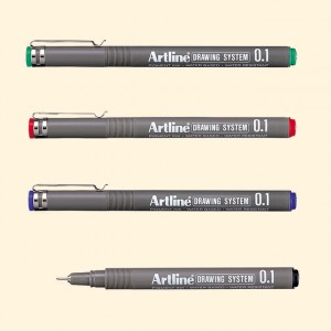 Supplier ATK Artline 231 Drawing Pen Harga Grosir