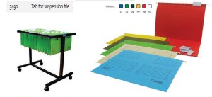 Supplier ATK Bantex 3490 Tab for Suspensions File Harga Grosir