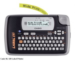 Supplier ATK Casio KL-120 Label Printer Harga Grosir