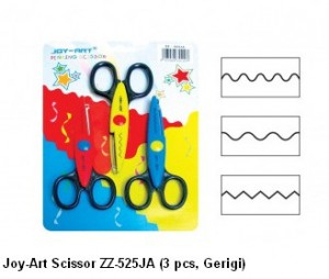 Supplier ATK Joy-Art Gunting ZZ-525JA (3 pcs, Gerigi) Harga Grosir